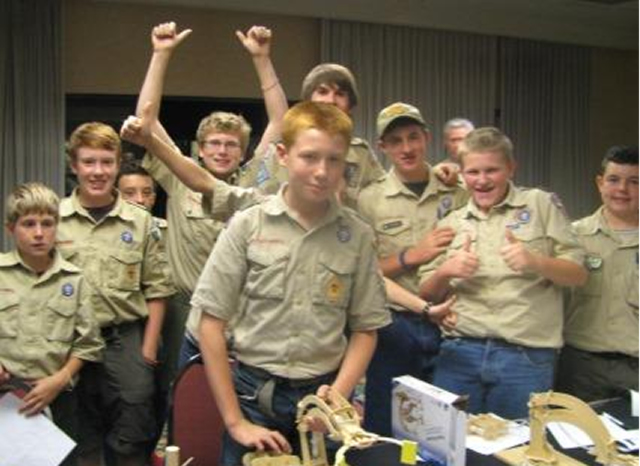 Boy scouts of america Fluid power kits