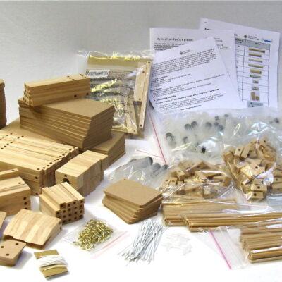 Mini hydraulic classroom kit